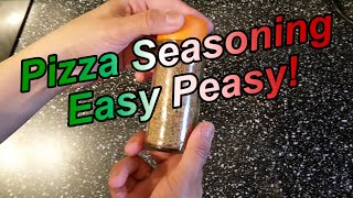 How to make Pizza Seasoning - EASY PEASY RECIPE