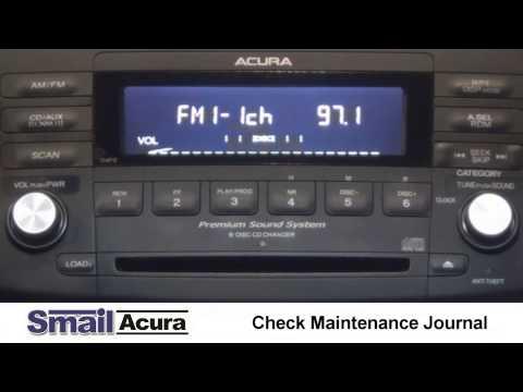 How to Insert Acura Radio Codes