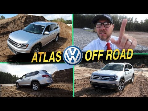 New 2018 VW ATLAS - OFF ROAD REVIEW | Testing (SE FWD) DAY 2 Auto Vlog