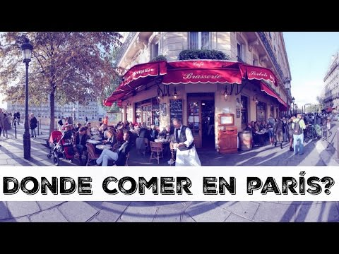 Donde cenar en Paris Barato y Bueno / Una Mexicana en Paris