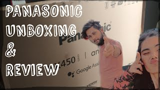 Panasonic TH-58HX450DX UNBOXING Review 58 inches 4K Ultra HD Android Smart LED TV BEST TV FOR PS5