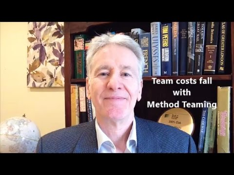 Team Costs Fall with Method Teaming