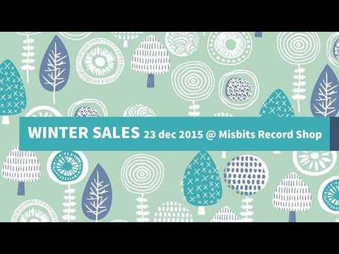 A Merry Vinyl xMas Day @ Misbits Record Shop w. Lisiere Coll