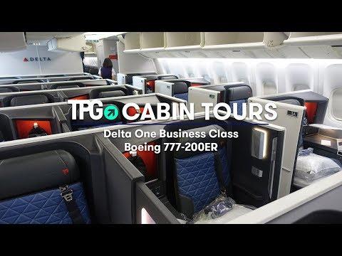 Cabin Tour: Delta Boeing 777-200ER