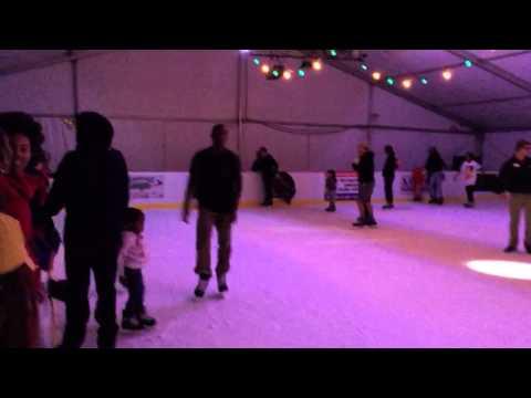 Ice skating at Adventure Landing, Jacksonville FL
