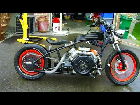 Thumbnail: V Twin Diesel Motorcycle
