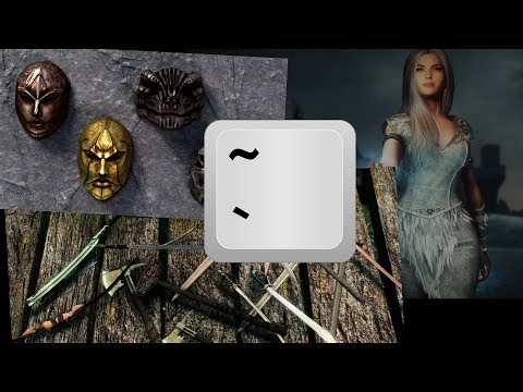 Skyrim (SE) Tutorial - Instant (New) weapons/armor/followers with the  console command