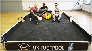 FOOTPOOL?!?!?! With Daniel Cutting & Tobi