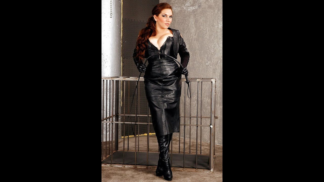 Leather and latex jacket and leggings and boots fun 7