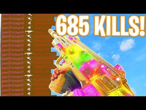 WORLDS FIRST 600+ KILL GAMEPLAY.. (WORLDS MOST KILLS!) - COD BO4