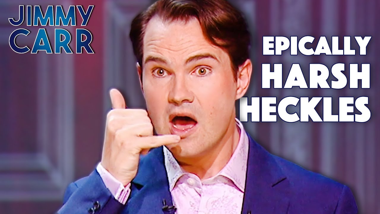 The Harshest Heckles Jimmy Carr In Concert