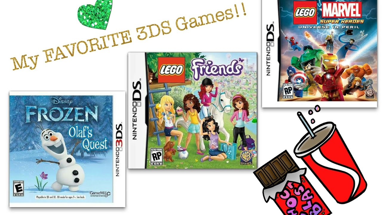 3ds Nintendo Games Review Featuring Opening Marvel Super Heros