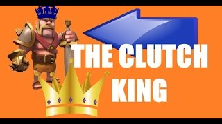 THE CLUTCH KING IS BACK, ARCHER TOWER UPGRADED- Clash of Clans Let's Play Episode 54