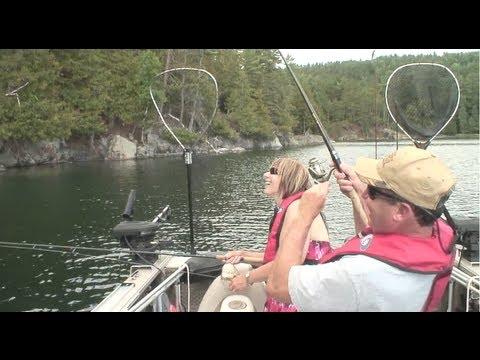 Pêche à l'achigan en Outaouais