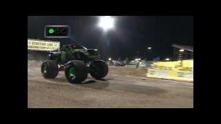 Monster Energy vs Lucas Oil Crusader Monster Jam World Finals Racing Round 2 2016