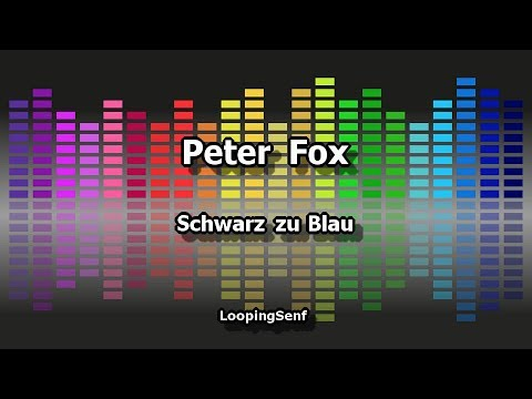 Peter Fox - Schwarz zu Blau - Lyric Video