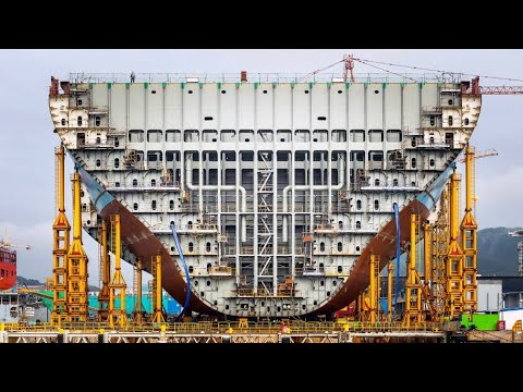 This is How Large Ship Building and Most Skilled Technical Doing Their Job Perfectly #2