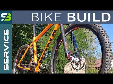 DIY. How To Build A Bike. Kona Explosif Project On Sram GX Eagle. Tutorial.