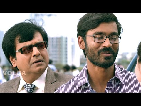 Raghuvaran B.tech Scenes - Raghu Got A Job And Construction Project - Dhanush, Amala Paul