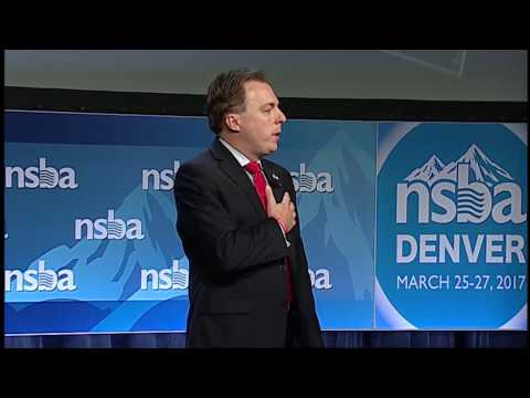 Kevin Ciak Speaks at NSBA's 2017 Annual Conference & Exposition