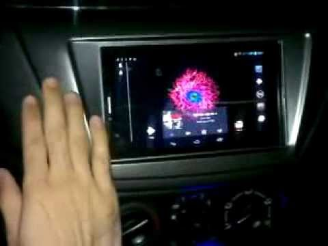 Android Tablet in my CAR!- with customized volume control!