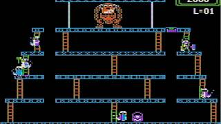 Donkey Kong -  - Vizzed.com GamePlay - User video
