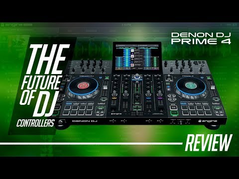 The Future Of DJ Controllers | Denon Prime 4 (Review)