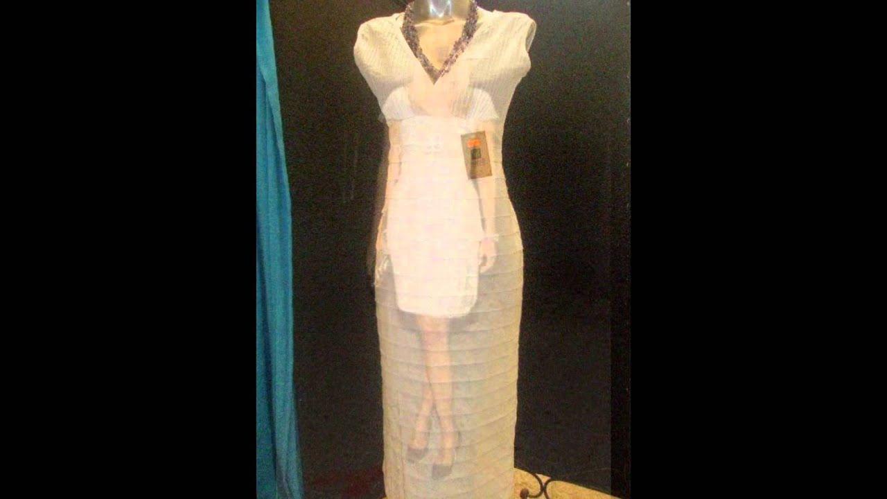 Vestidos de novia en manta