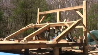 we built a cabin