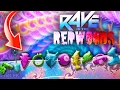 RAVE IN THE REDWOODS: 10 *NEW* PERKS! ALL CHARM PARTS EASTER EGG GUIDE! (IW Zombies)