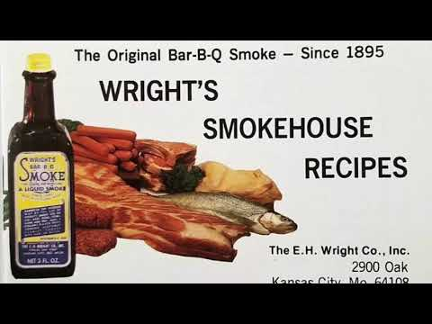 Wright's Liquid Smoke 1958 Recipe Booklet