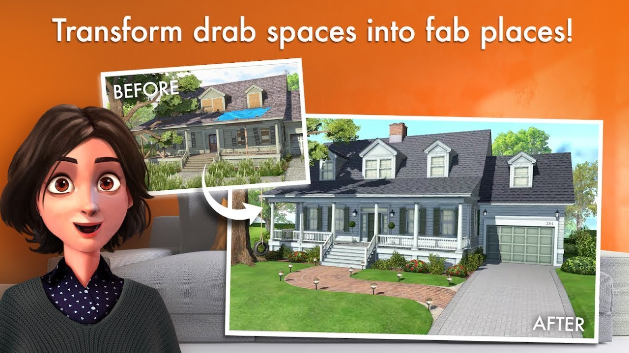 Home design makeover android gameplay
