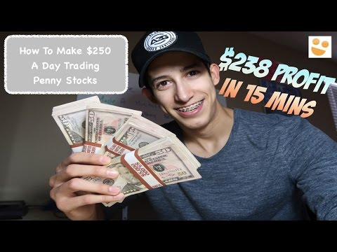 Making +$250 A Day Trading Penny Stocks: How To Trade: $NUGT, $FNCX, $DRYS | Episode 38