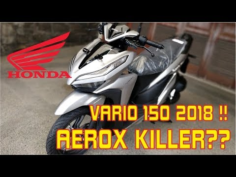 HONDA VARIO 150 ESP 2018 UNBOXING - [REVIEW] - RIDING EXPERIENCE 2/3