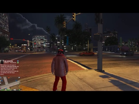 live youtube sur grand theft auto V en mode online avec looping