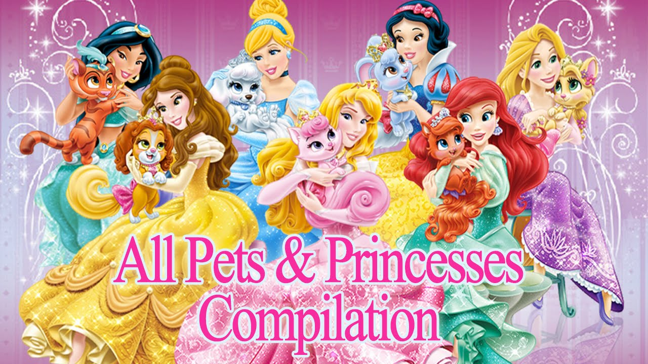 disney princess palace pets all pets princesses compilation new