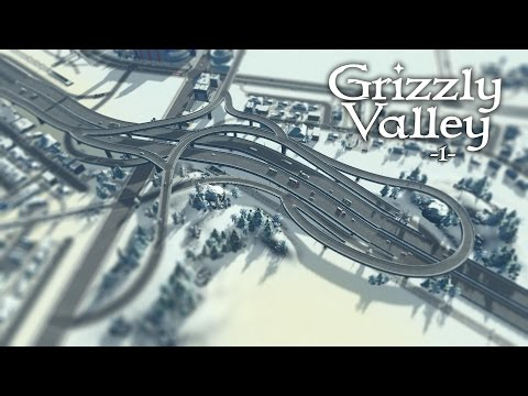 """Cities Skylines (Snowfall) - Grizzly Valley [PART 1] """"Cozy Winter Town"""""""