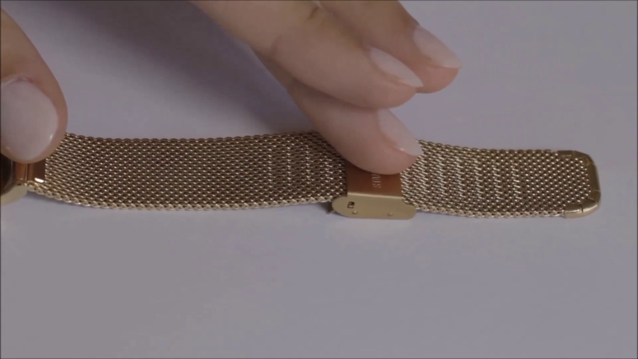 Cluse Tutorial How to adjust Cluse mesh watch | BoumanOnline