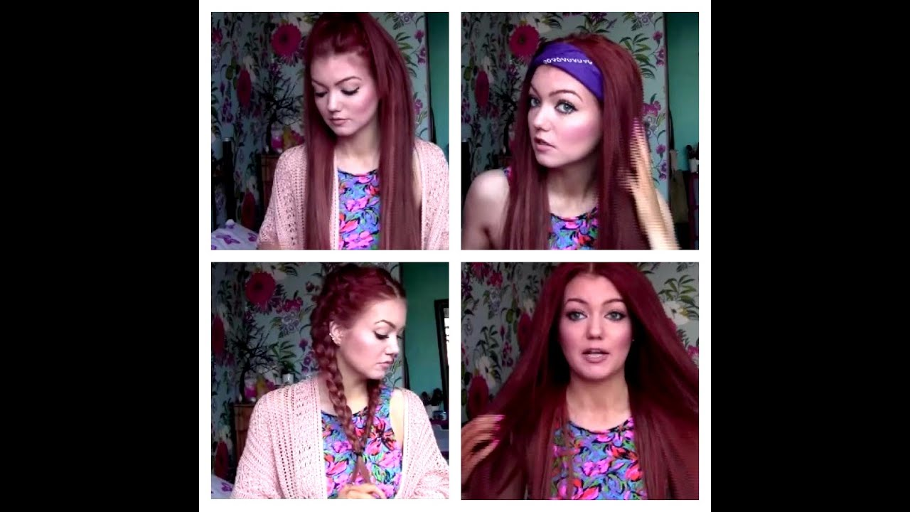 3 Easy Go To Hair Styles! With Hair Extensions YouTube
