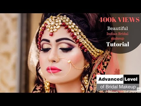 Advanced Bridal Makeup Tutorial