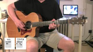 Shadow Of The Day - Acoustic Guitar - chords, Tutorial - Linkin Park