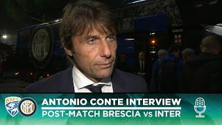 BRESCIA 1-2 INTER | ANTONIO CONTE INTERVIEW: