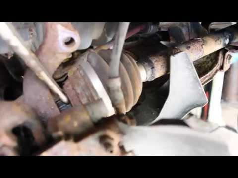 Antriebswelle wechseln VW Polo  6N Golf 3 Golf 2 Golf 1 Passat Corsa Astra Tigra