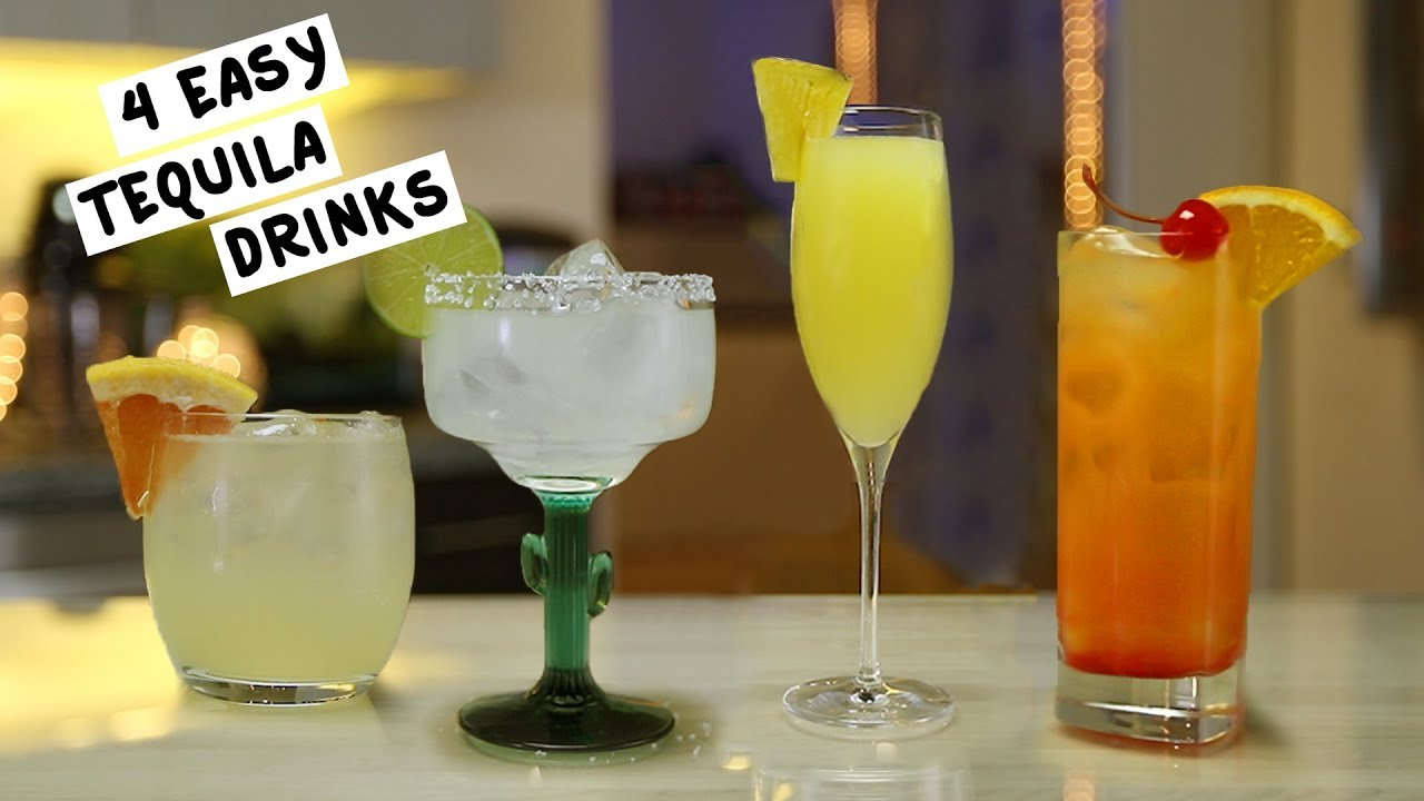 Easy Mixed Drink Recipes With Tequila Besto Blog