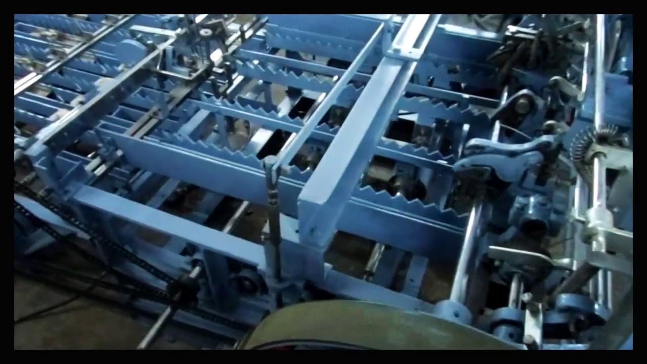 wire heald making machine - YouTube