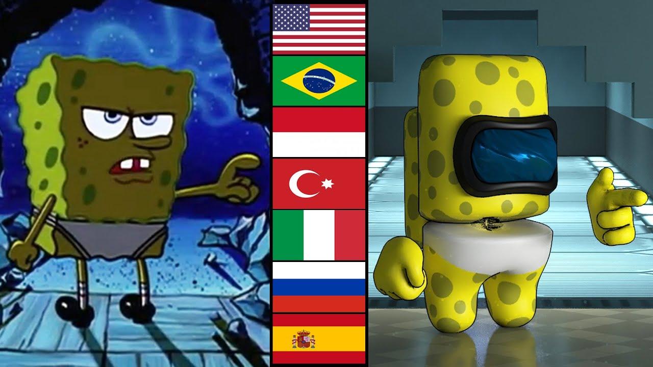 SpongeBob VS Among Us (shut your mouth)
