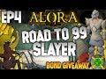 ⚔️Alora Rsps | Road to 99 Slayer Ep 4 | CRAZY Progression!⚔️