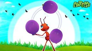 Oddbods Apresenta: Antiks   Formigas no Pique Nique   Desenhos Animados Divertidos