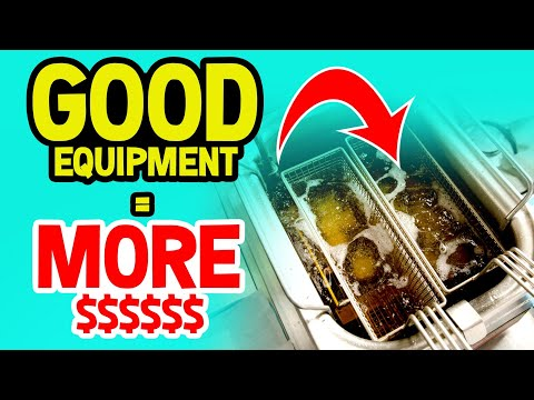Buy Better Equipment For Your Food Vendor Business!