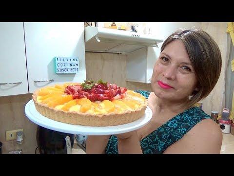TARTA DE FRUTAS Y PASTELERA / MUY FÁCIL / Silvana Cocina ❤